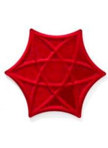 Obešanka, rdeča