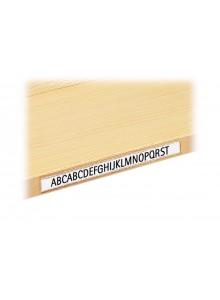PVC samolepilni napis z okvirjem - 200mm x 20mm