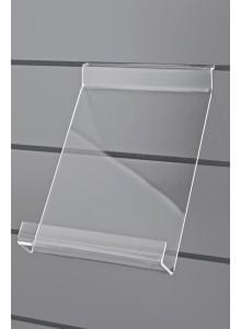 PVC polička za stojala PLUS