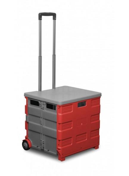 Zložljiv voziček s pokrovom