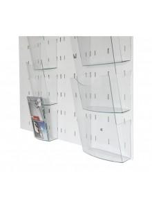 Magnetna tabla s ključavnico za 9 x A4 format