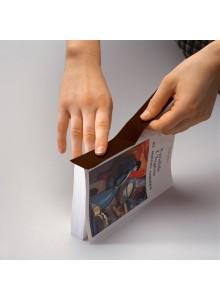Tekstilni barvni trak na papirni podlagi - 30mm x 10m, črn