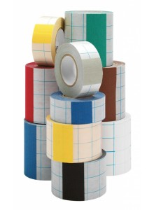 Tekstilni barvni trak na papirni podlagi - 80mm x 10m
