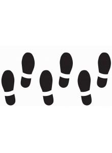 Obrisi stopal, manjši
