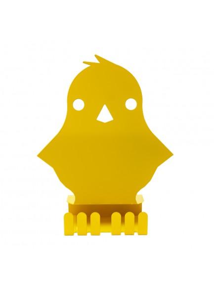 PIŠČANČEK, stojalo, rumeno