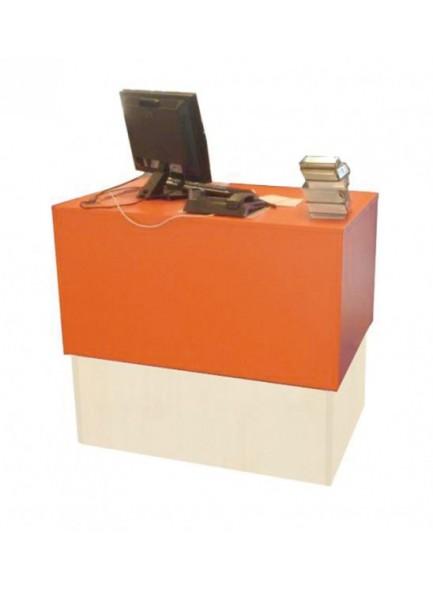 Računalniška mizica s polico za PC in prostor za kabel