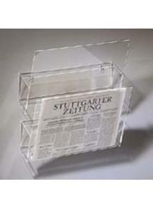 PVC stenski nosilec za časopise